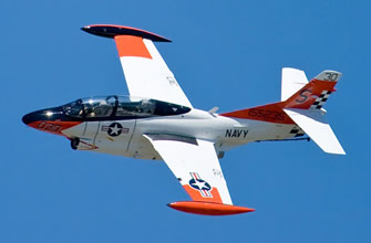 Navy Legacy Flight: T-2 Buckeye